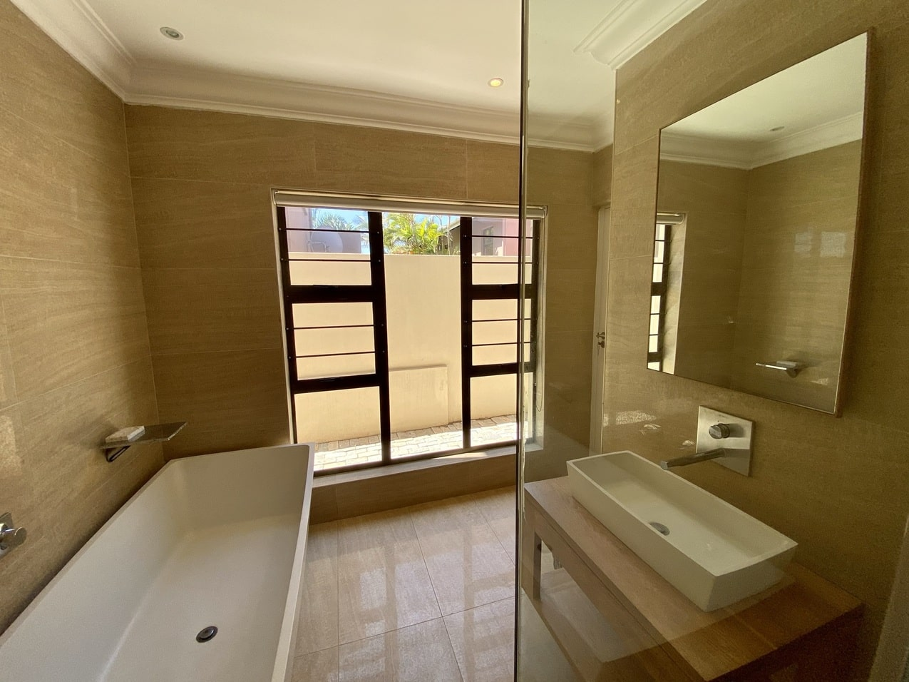 Ballito Beachfront Cottage Coral Bathroom 1JPEG
