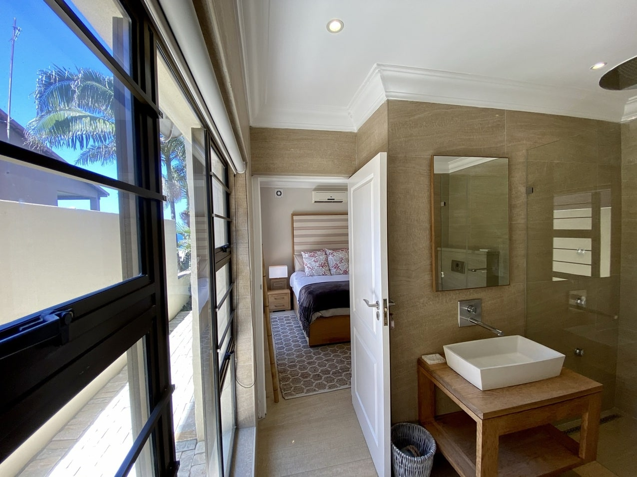 Ballito Beachfront Cottage Coral Bathroom 2JPEG