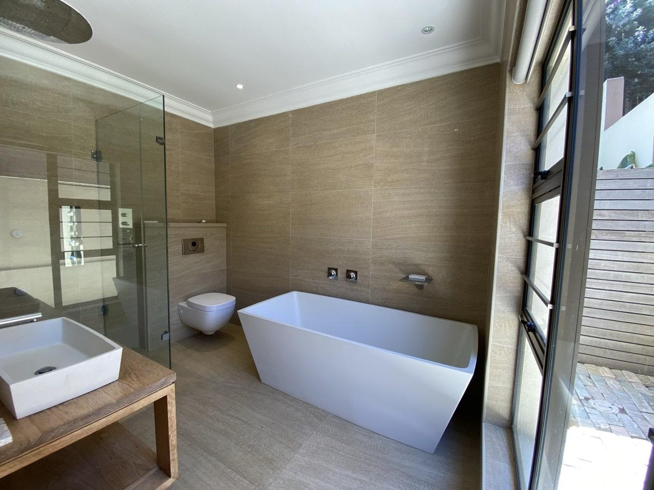 Ballito Beachfront Cottage Coral Bathroom 6JPEG