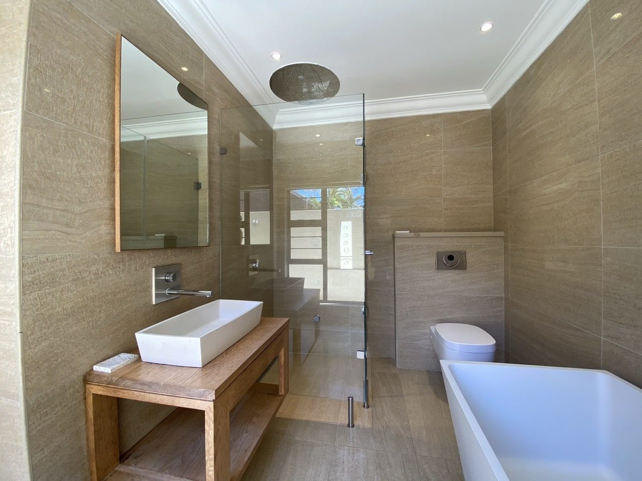 Ballito Beachfront Cottage Coral Bathroom 7JPEG
