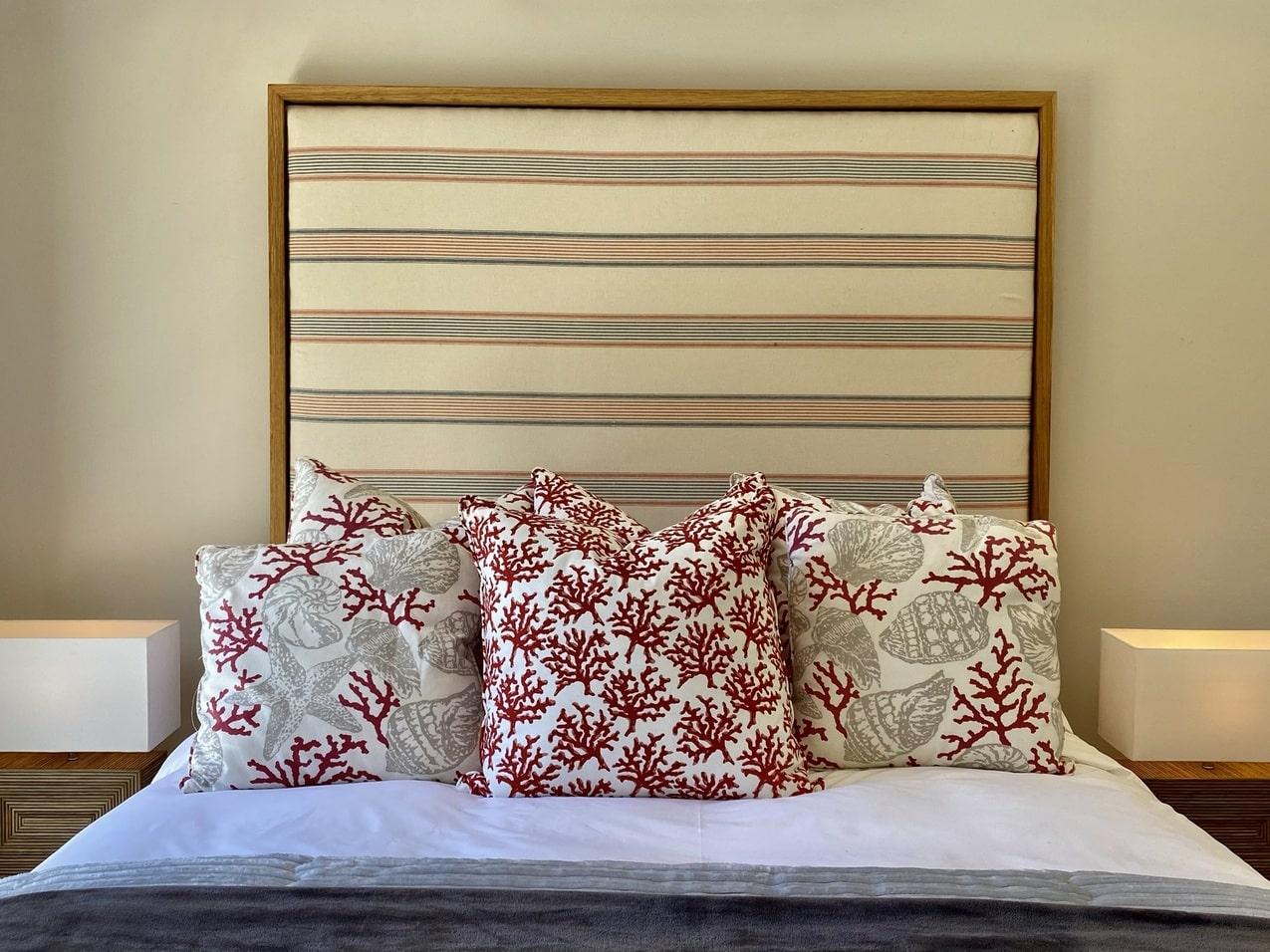 Ballito Beachfront Cottage Coral Bedroom (1)